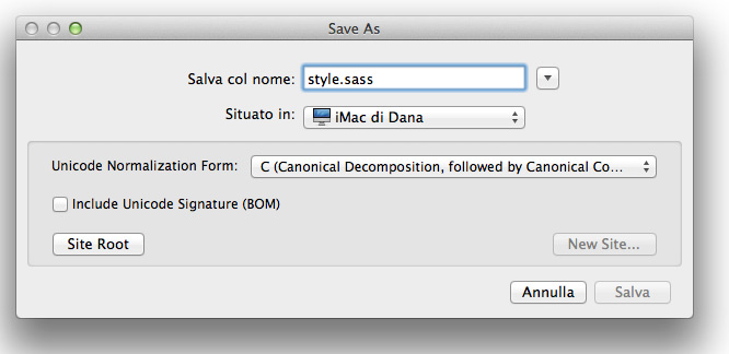 salvare-in-format-sass
