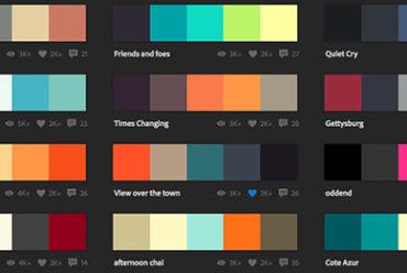 Adobe Color CC – palete de culori