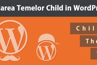 Crearea unei Child Theme pentru WordPress