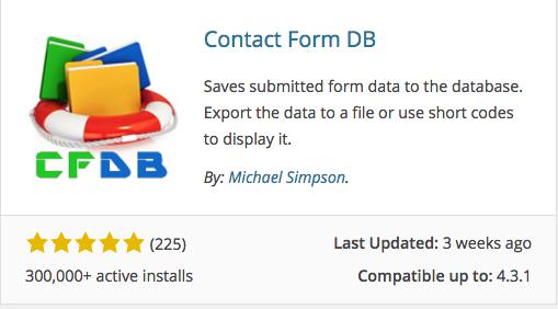 Contact-Form -DB-Plugin