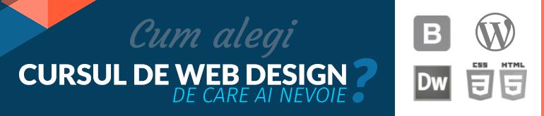 Cursuri Web Design Diferente