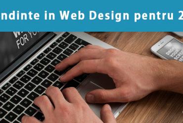 7 Tendinte in Web Design pentru 2016