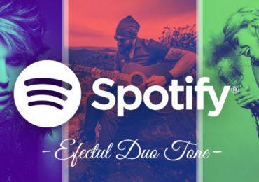 """Efectul DuoTone """"Spotify"""" cu Photoshop"""