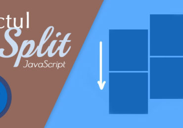 Efectul Page Split Scroll – Web Design
