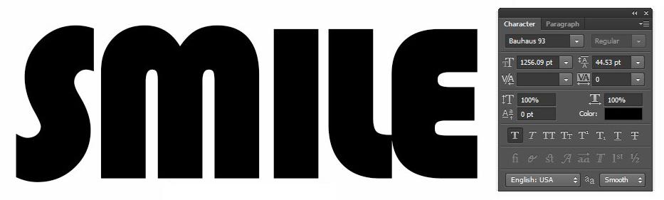 masca-text-photoshop-font