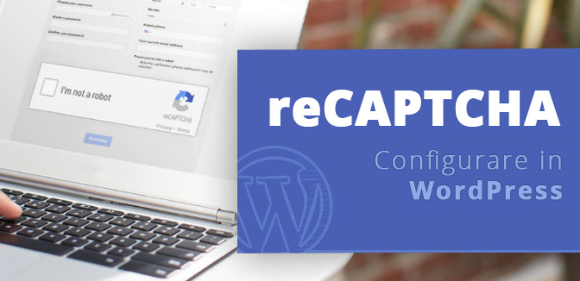 Configurare Captcha in WordPress