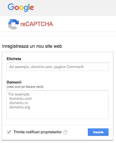 inregistrare-recaptcha-google