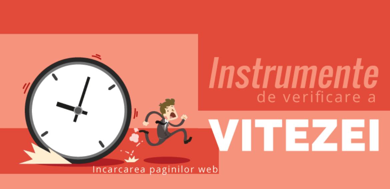Instrumente de verificare a vitezei site-urilor web