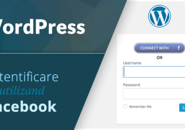 WordPress – Logare cu Facebook