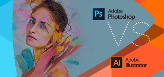 Ce curs de grafica sa alegi? Diferenta intre Adobe Photoshop si Illustrator