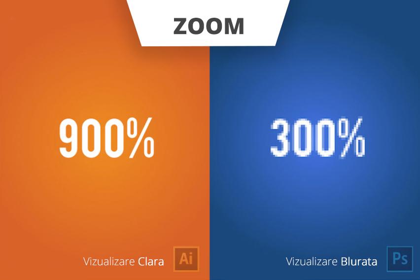 Claritatea creatiilor in Photoshop si Illustrator